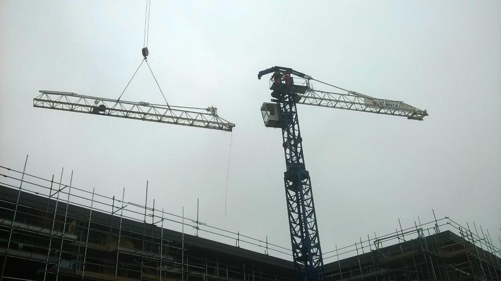 Tower Crane School : Farewell to our tower crane