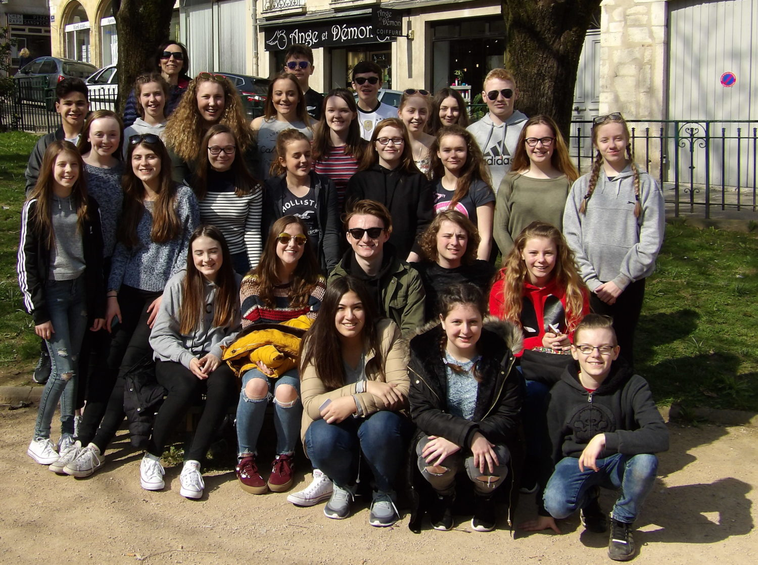 School Exchange to France